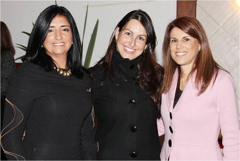 Ana Rosi Assumpção Valente Abduch, Francine Bispo Bareño e Deise Teixeira Krause.
