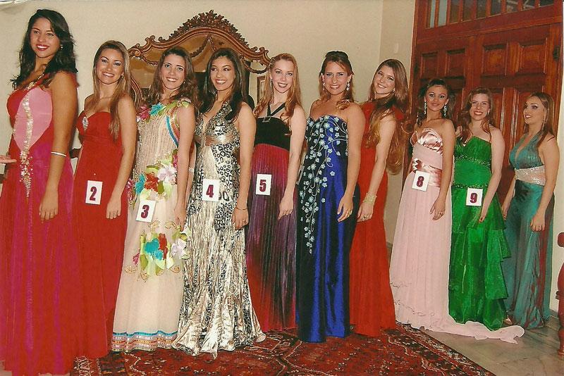 Candidatas ao título de Glamour-Girl 2010